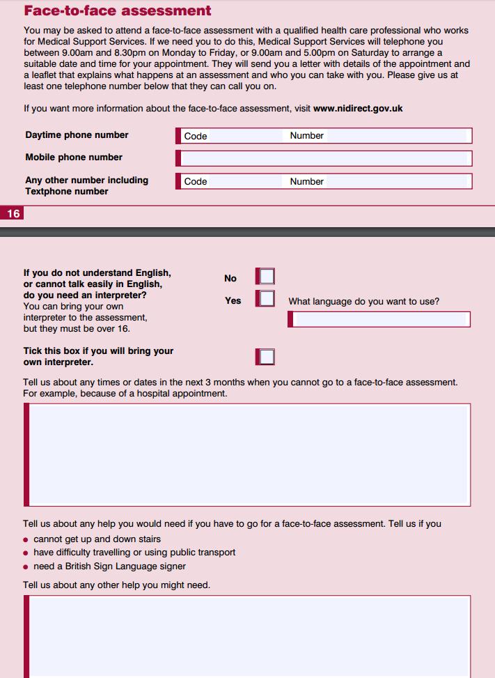 esa50 form pdf