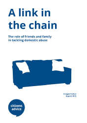 A link in the chain report cover