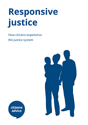 Cover image for Responsive justice report