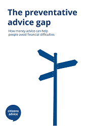 The preventative advice gap report cover image
