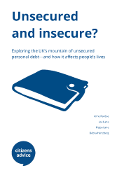 Report cover of Unsecured and Insecure