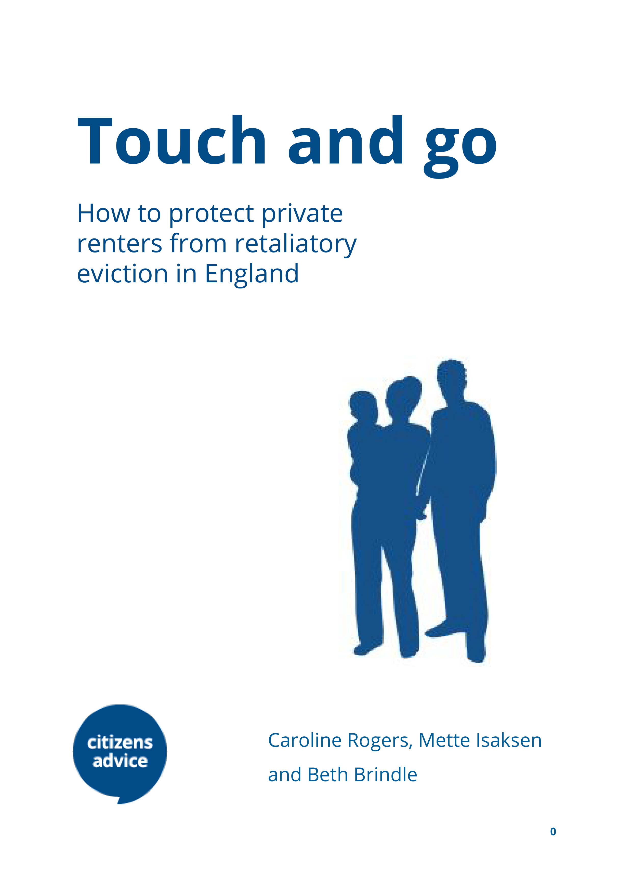 Touch and go report cover