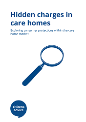 Hidden Charges in care homes cover image
