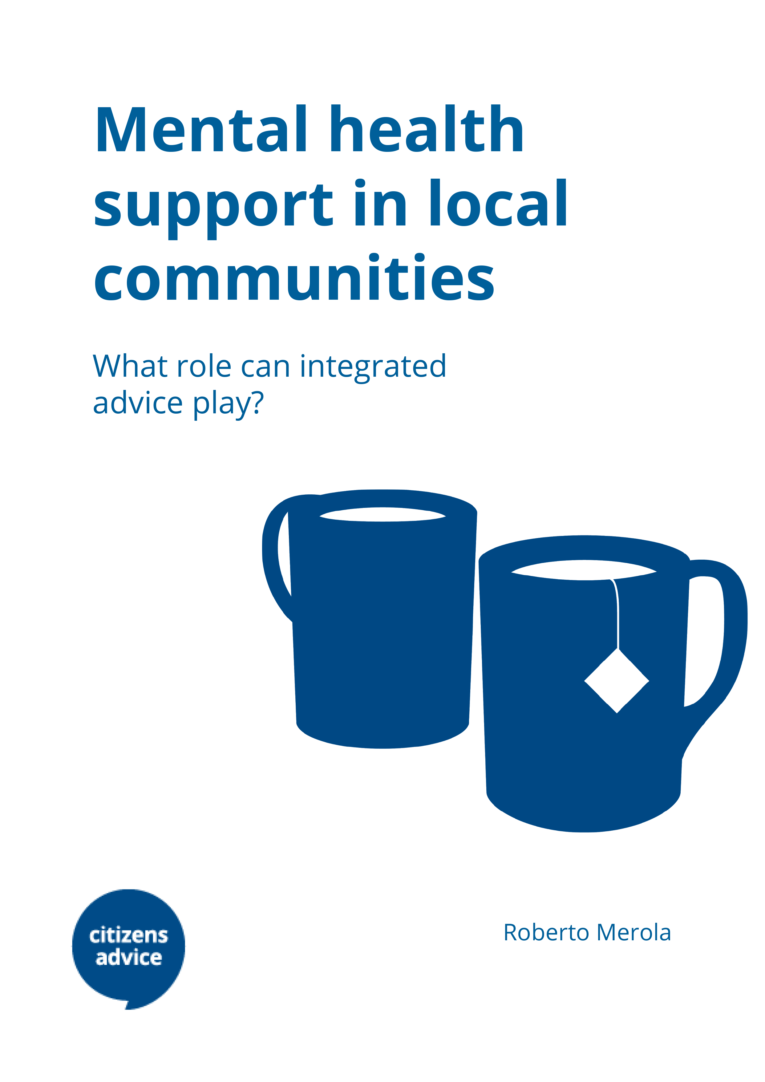 Mental health support in local communities