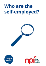 a report on the rise of self employment With more than 15 per cent of the workforce self-employed the rise of freelancing signals a the not alone report looks at recent trends in self.