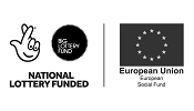 National Lottery Funded, European Union Social Fund