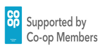 Supported by Co-op Members logo
