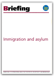 Immigration and asylum briefing cover