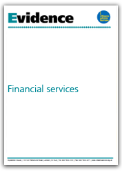 Financial services evidence cover
