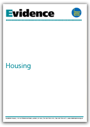 Housing evidence cover
