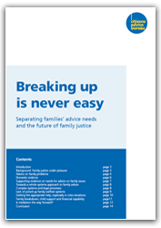 Breaking up is never easy report cover image