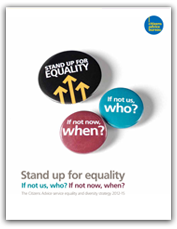 Stand up for equality cover
