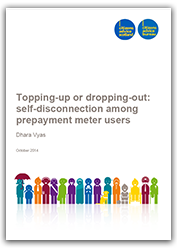 Topping up or dropping out report cover