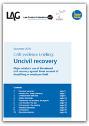 Uncivil recovery