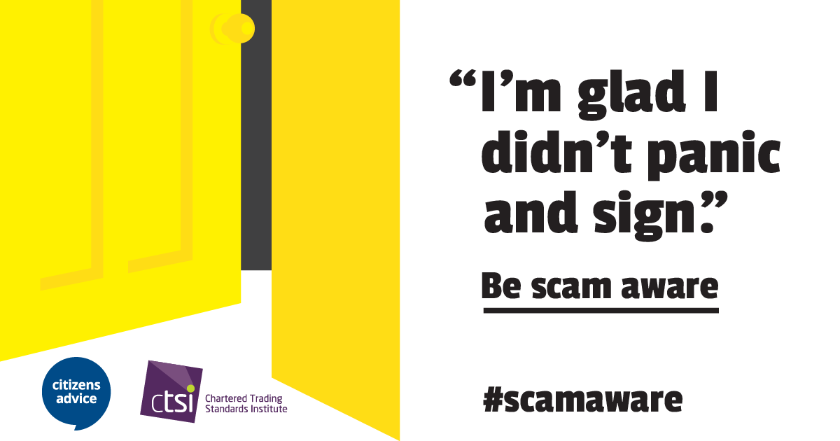 Download scams awareness month resources citizens advice for Door 3 facebook