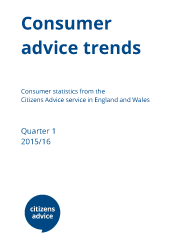 Consumer advice trends cover report