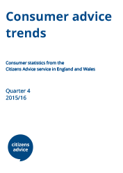 Consumer advice trends report cover image