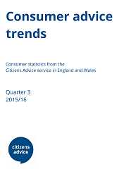 Consumer Advice trends Q3 report cover image