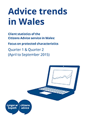 Advice trends in Wales cover