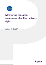 Online delivery rights cover
